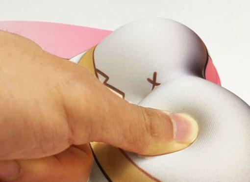 tapis de souris ergonomique chat