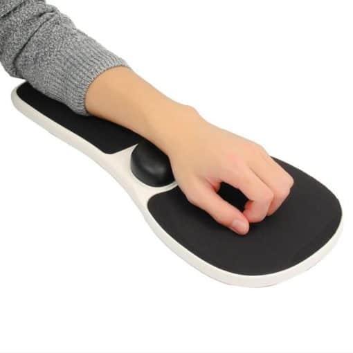 accoudoir repose poignet avant bras tapis de souris