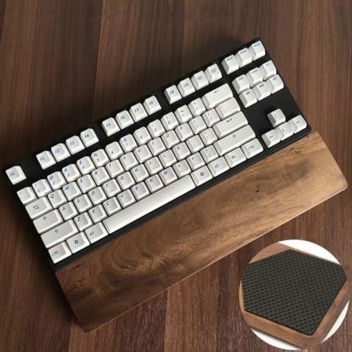 repose poignet ergonomique clavier caoutchouc