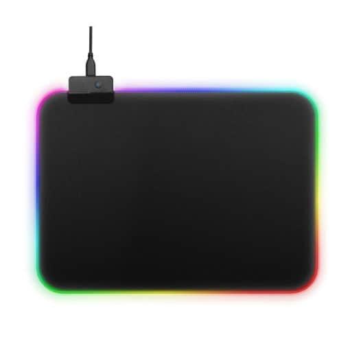 Tapis de Souris Gamer Lumineux Mouse Pad LED Rétro-Eclairage