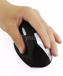 Souris verticale sans fil pour gaucher