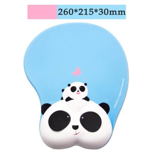 Tapis de souris enfant XL 3D pandas