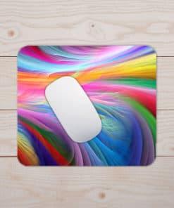 Tapis de souris - Motif bande de couleurs