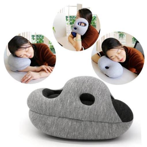 Oreiller de sieste oreiller à main couche