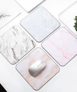 tapis de souris décoratif en marbre