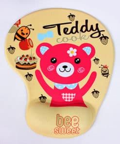 Tapis de souris enfant avec repose poignet petit ourson teddy bear