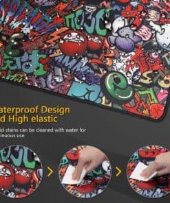 Tapis de souris XXL - Street art - Graffitis