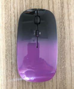 Souris bimode sans fil 2,4 G et bluetooth - Multi couleurs effet satiné