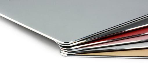 tapis de souris aluminium ultra fin colories