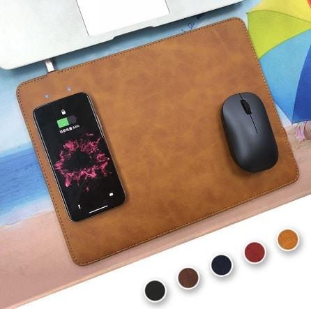 Tapis de souris rechargeable sans fil