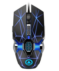 Souris Gaming filaire – Silver carving ghost