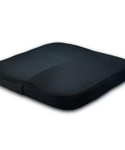 Coussin d'assise ergonomique Couleur noir matière synthétique