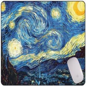 tapis de souris dessin peinture creative