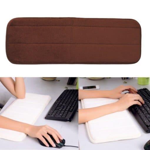 Tapis repose poignet souple doux clavier ordinateur
