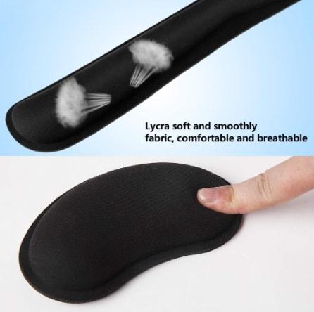 repose poignet ergonomique clavier poignet
