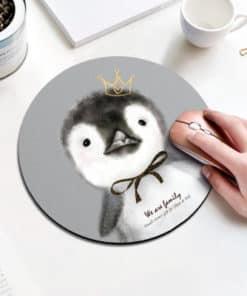 tapis de souris enfant petit pingouin