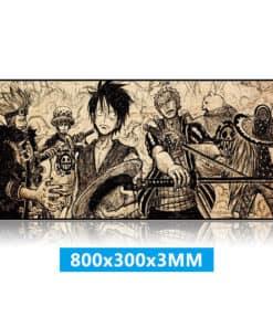 tapis de souris one piece xxl Luffy