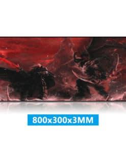 tapis de souris World of Warcraft Arthas vs Illidan