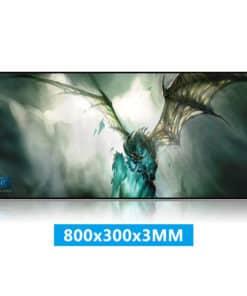tapis de souris World of Warcraft Dragon de glace du Roi Liche