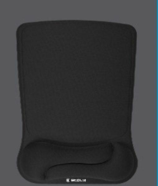 Tapis de souris ergonomique duo noir