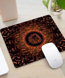 Tapis de souris rectangle gaming motif lion rugissant Différents coloris