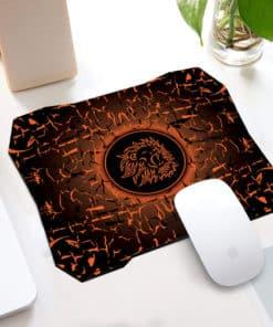 Tapis de souris gaming forme spéciale motif lion rugissant - Différents coloris