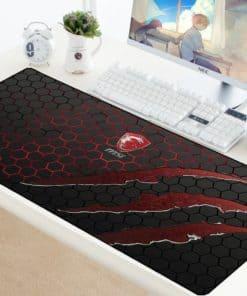 Tapis de souris XL 70x30cm gaming MSI Griffures de dragon