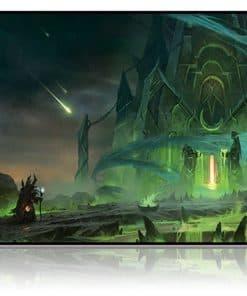 tapis de souris World of Warcraft La tombe de Sargeras