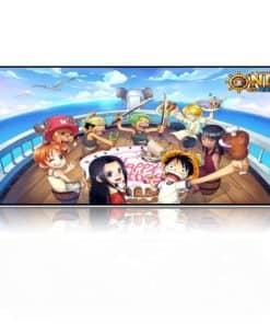 Tapis de souris XXL manga One piece Fete anniversaire