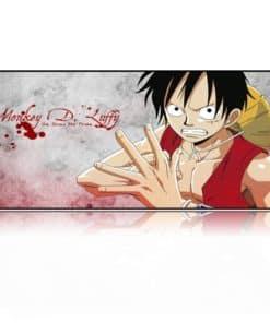 Tapis de souris XXL manga One piece Luffy
