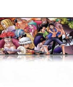 Tapis de souris XXL manga One piece Super Rookies