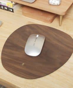 Tapis de souris bois pomme