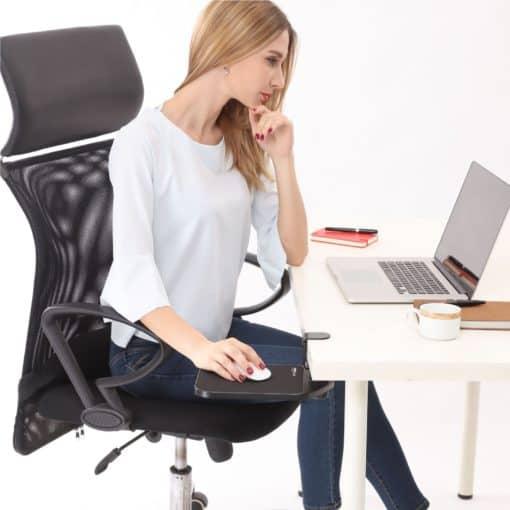Support de souris rotatif à 360° repose-main