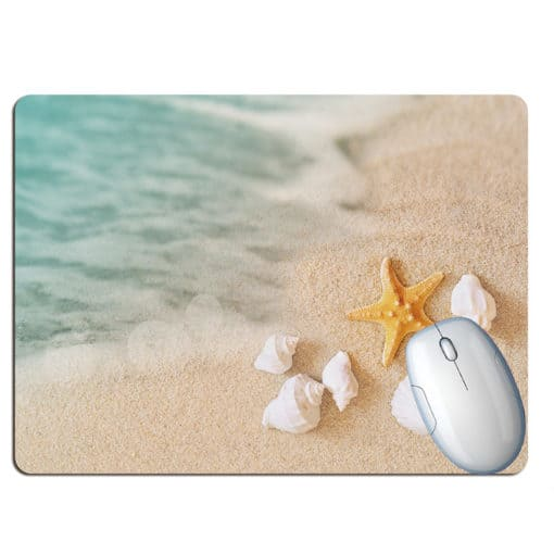 Tapis de souris paysage plage paradisiaque turquoise