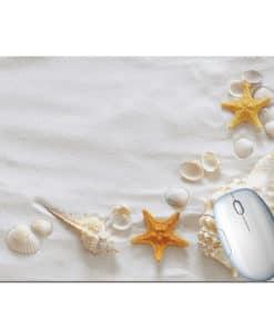 Tapis de souris paysage plage paradisiaque étoiles