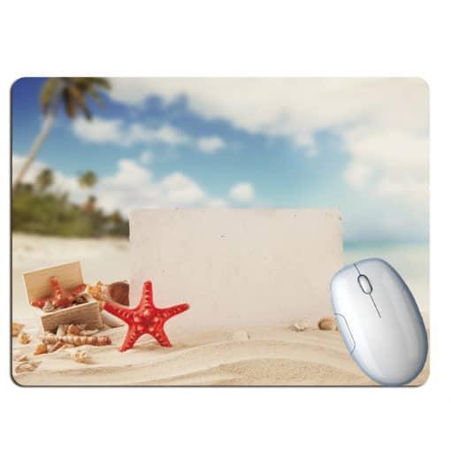 Tapis de souris paysage plage paradisiaque étoile