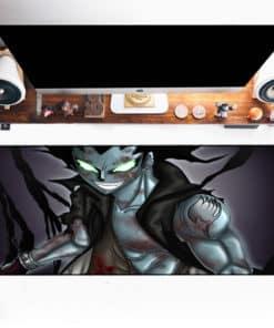 Tapis de souris XXL manga Fairy Tail Gajeel Redfox