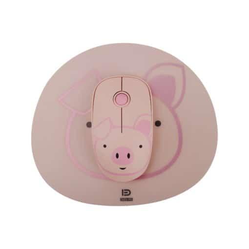 Souris sans fil enfant - Petit cochon