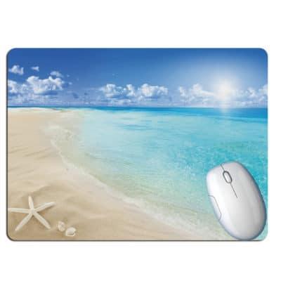 tapis de souris paysage plage paradisiaque