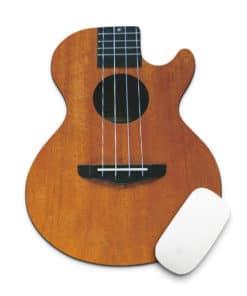 Tapis de souris guitare acoustique