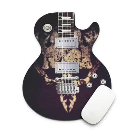 Tapis de souris guitare cheetah