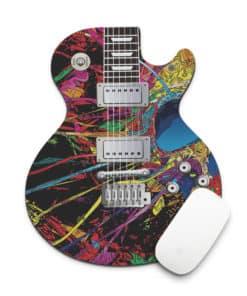 Tapis de souris guitare psychédélique