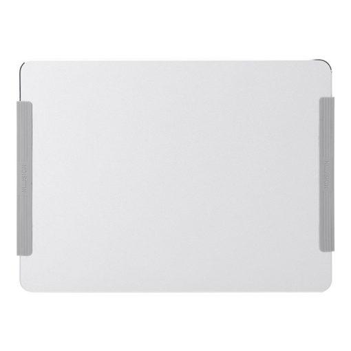 Tapis de souris aluminium avec rebords antidérapants en silicone